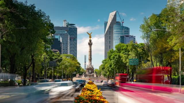 Coincidencia de día y noche México Time Lapse - vídeo