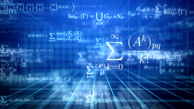 Math background. Loop. video