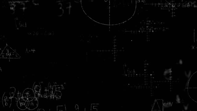 Math formulas on blackboard Digitally generated of math formulas on blackboard mathematics stock videos & royalty-free footage