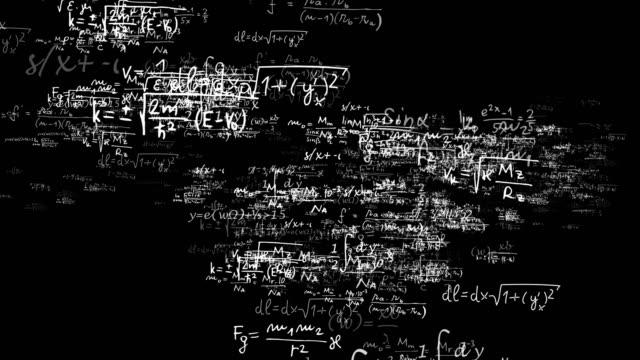 Loop matematik formülleri kod numaraları, animasyon, render, arka plan, video