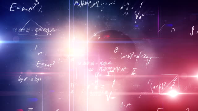 Mathematical formulas (Universe) Animation of mathematical formulas and geometric shapes flying through the universe. Perfectly usable for all math- & science related subjects. Created in Adobe After Effects. mathematics stock videos & royalty-free footage