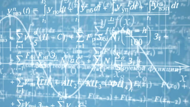 mathematical formulas - physics stock videos and b-roll footage
