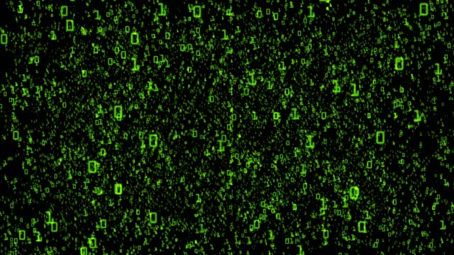 matrix code background - binary code stock videos & royalty-free footage