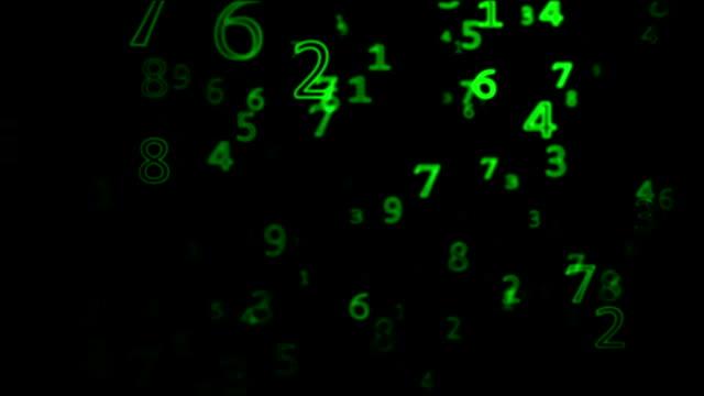 Matrix numbers video