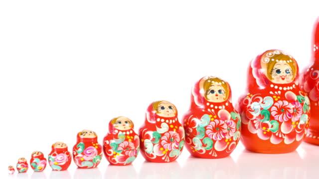 Matryoshka dolls video
