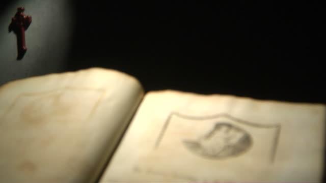 matthew title tilt down hd - lithograph stock videos & royalty-free footage
