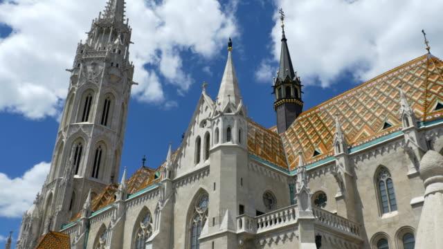 ブダペスト マーチャーシュ聖堂 - 城点の映像素材/bロール