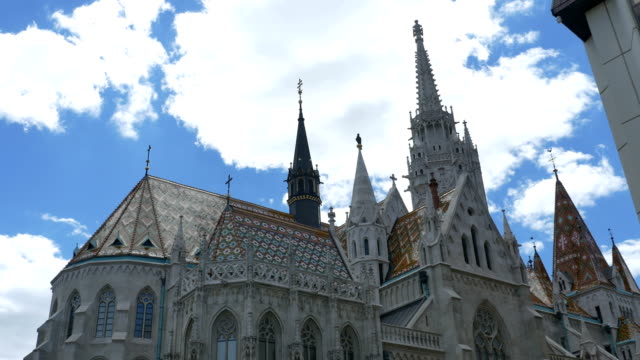 Matthias Church in Old Budapest video
