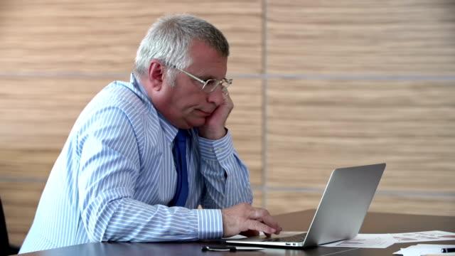 Mature Businessman video