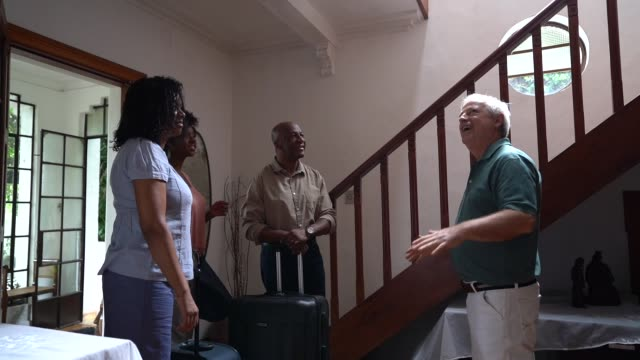 Mature Host Welcome African Family Guest at House Rental / Bed and Breakfast Accommodation