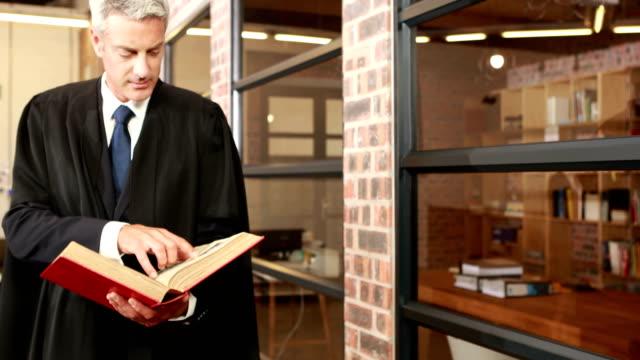 mogen magistrate läsebok - lagbok bildbanksvideor och videomaterial från bakom kulisserna