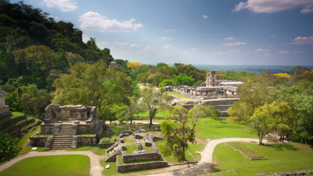 TIME LAPSE: Maya Temples Palenque video