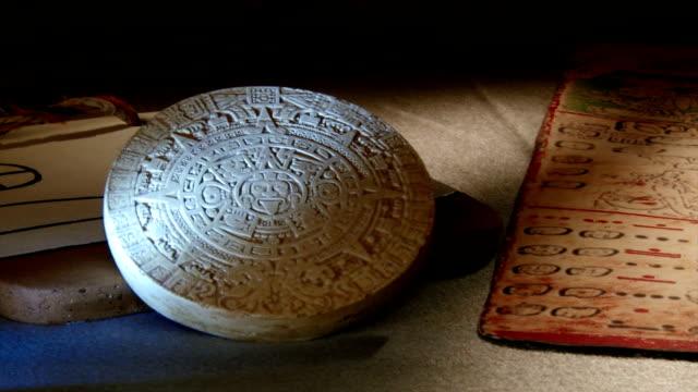 Mayan Codex, pan right video