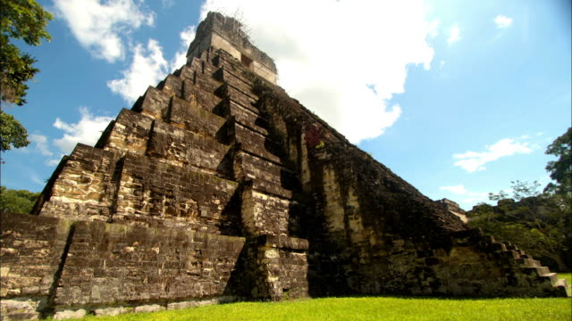 Mayan Temple in El Peten , Guatemala video