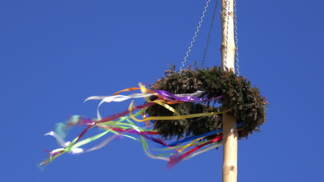 maypole austria - labor day stock videos and b-roll footage