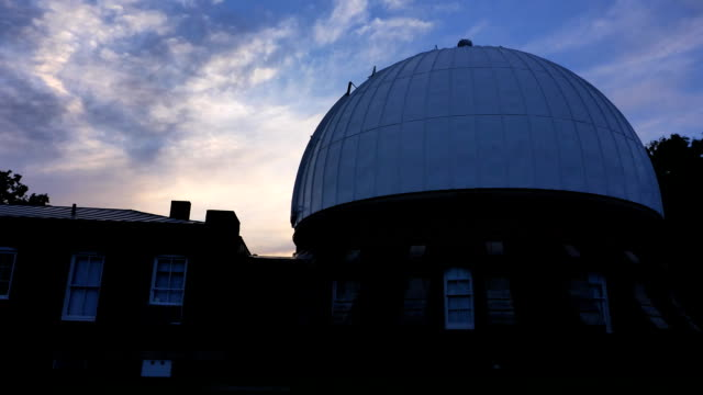 McCormick Observatory time lapse video