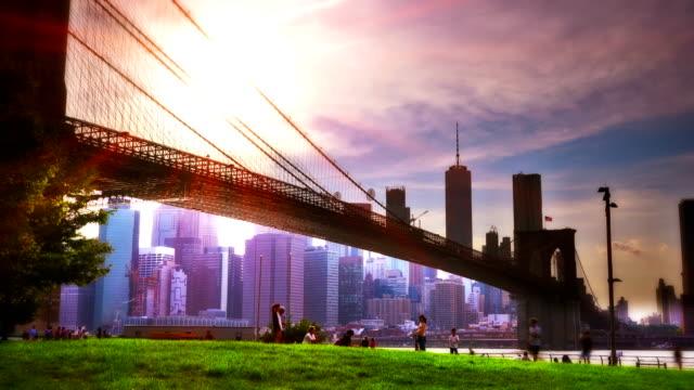 Meadow and Brooklyn bridge video