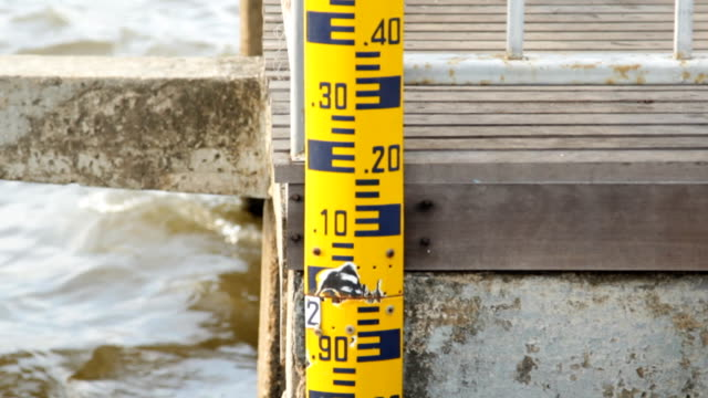 Measured water levels video