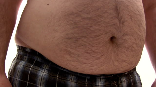 Measuring His Thick Belly video