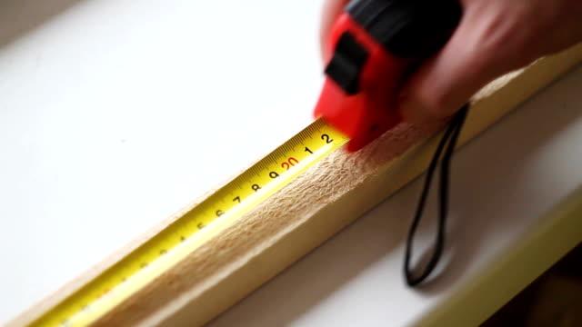 measuring tape measure small Board video
