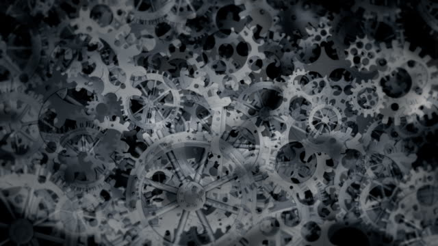 Mechanical and Technology Background, with rotating Gears Mechanical and Technology Background, with rotating Gears. The File is seamless Looping (3D Rendering) generation x stock videos & royalty-free footage