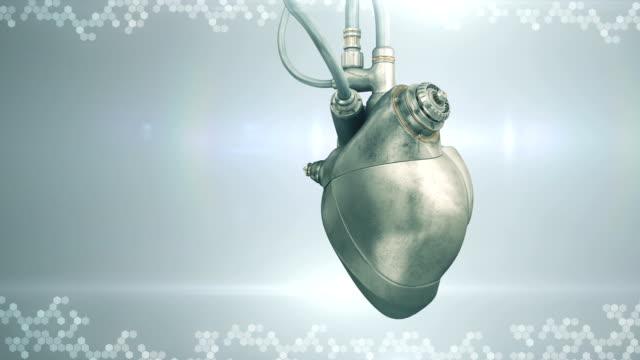 Mechanical cyberpunk heart video