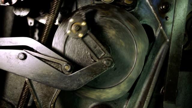 機構(hd ) - 機械部品点の映像素材/bロール