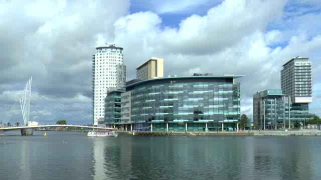 Media City Footbridge - Manchester, England