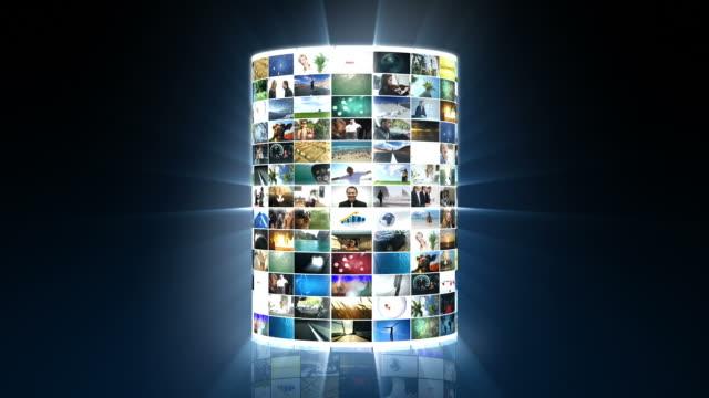 Media Cylinder video