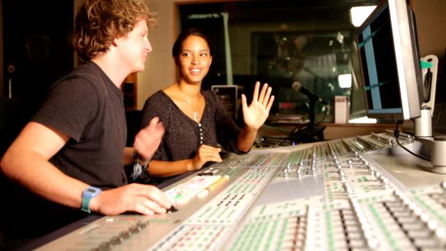 media: mixing desk duo video