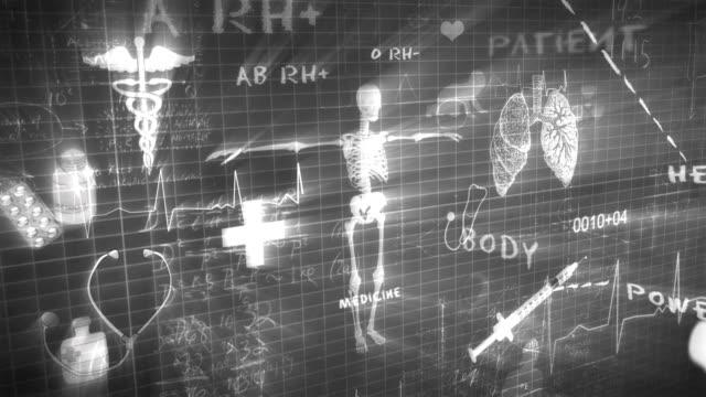 Medical Chalkboard Writing video