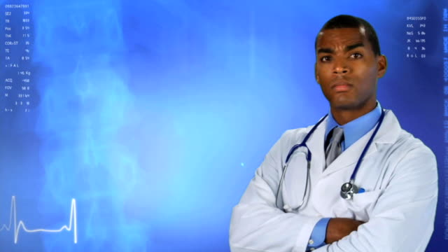 Medical Doctor Blue BG 1, Serious video