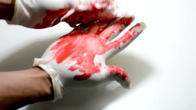 Medical gloves video