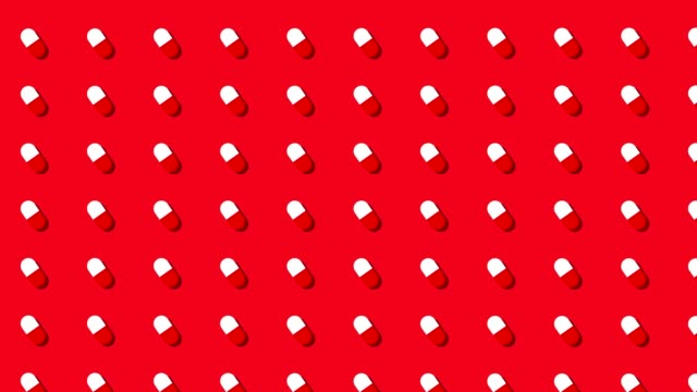 medical prescription pills background loop red and white medical prescription pills background loop antibiotic stock videos & royalty-free footage