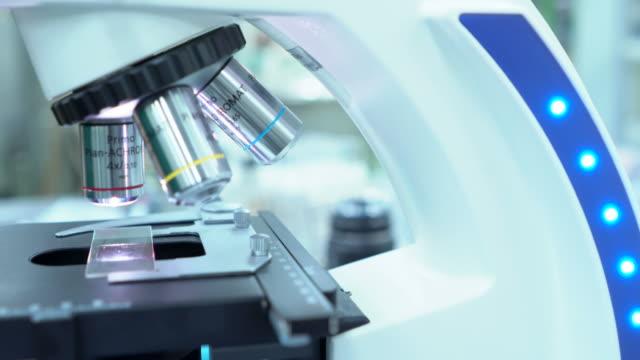 Medical Research Scientist Tests Vaccine Experimental Drug in STEM Modern Laboratory.