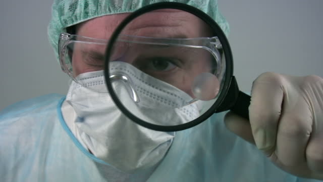 Medical research scientist video