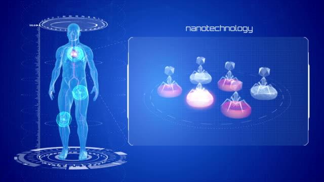 Medical robot. Nanotechnology video
