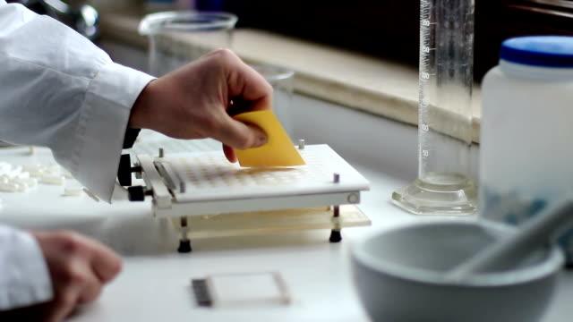 medicine and drugs. create capsules video