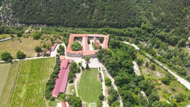 Medieval Bachkovo Monastery Dormition of the Mother of God, Bulgaria
