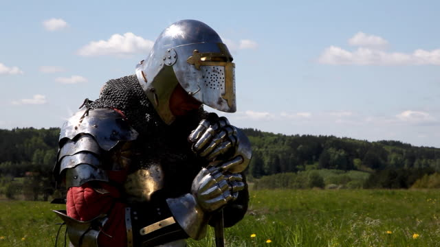Medieval Knights Medieval Knights knight person stock videos & royalty-free footage