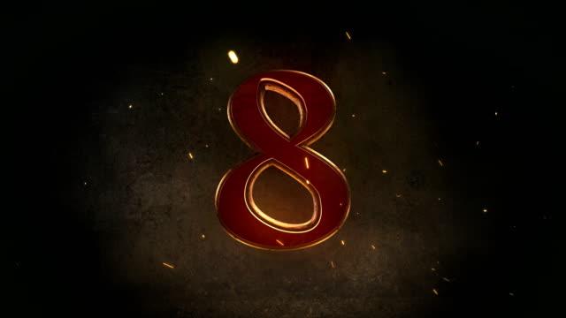 Medieval Top Ten Countdown video