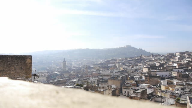 medina of fez in morocco - souk video stock e b–roll