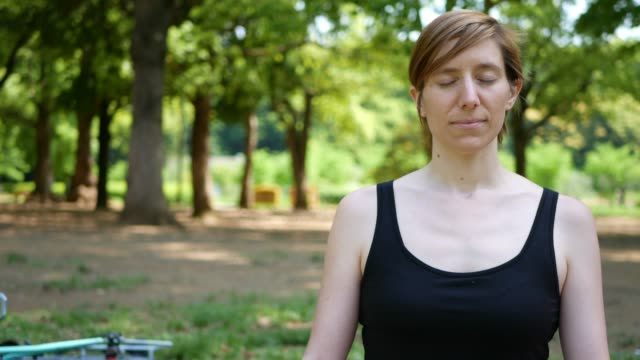 Meditation and mental wellness video