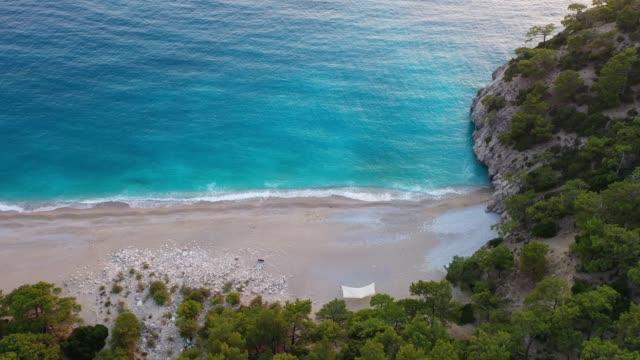 mediterranean coastline. - isole egee video stock e b–roll