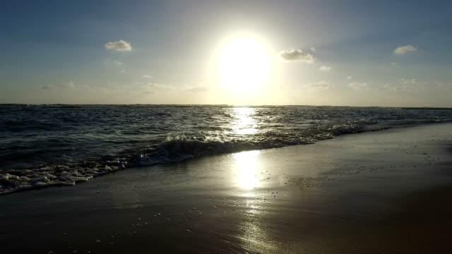 Mediterranean Sea Beach in Israel video