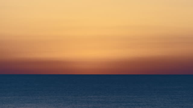 Mediterranean sea sunrise time lapse. video