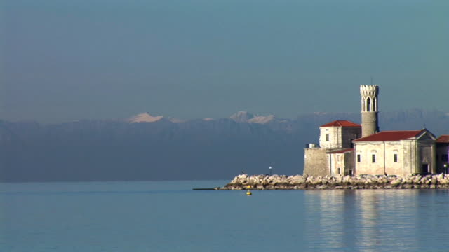 HD: Mediterranean town video