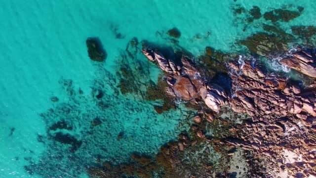 meelup beach, perth western australia - western australia stock videos & royalty-free footage