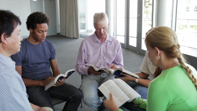 Meeting Of Bible Study Group video