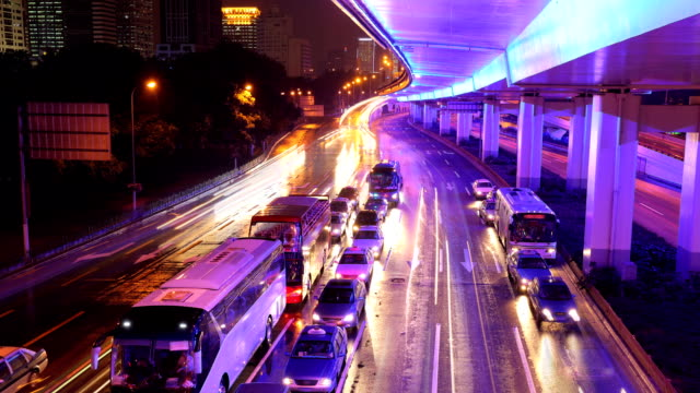 HD: Megacity Highway, Time Lapse video
